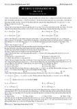 Đề thi tự luyện đại học môn vật lý - 10