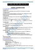 Hệ thông kiến thức trọng tâm vật lý - chương 1