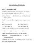 11 Đề kiểm tra 1 tiết Hoá 10