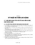 Giáo trình AN TOÀN LAO ĐỘNG - Ch 4