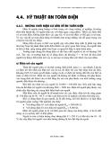 Giáo trình AN TOÀN LAO ĐỘNG - Chương số 4
