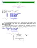 Mạch điện tử : MẠCH DAO ÐỘNG (Oscillators) part 1