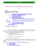 Bài giảng mạch điện tử : MẠCH PHÂN CỰC VÀ KHUẾCH ÐẠI TÍN HIỆU NHỎ DÙNG FET part 1