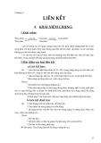 KẾT CẤU BÊ TÔNG CỐT THÉP : LIÊN KẾT part 1