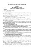KẾT CẤU BÊ TÔNG CỐT THÉP : NHỮNG VẤN ĐỀ CƠ BẢN VỀ KẾT CẤU BÊ TÔNG CỐT THÉP part 1