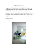 Thiết kế góc làm việc tại nhà