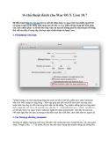 16 thủ thuật dành cho Mac OS X Lion 10.7