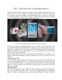 NFC - cách làm việc và ứng dụng thực tế