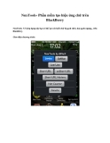 NuxTools- Phần mềm tạo hiệu ứng chữ trên BlackBerry