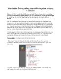 Xóa dữ liệu ổ cứng chống phục hồi bằng cách sử dụng CCleaner