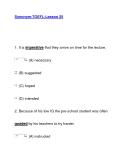 Synonym-TOEFL-Lesson 25