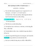 BÀI TẬP HÓA HỌC 11  ĐẠI CƯƠNG VỀ KIM LOẠI