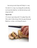 Làm món gà cuộn trứng muối bằng lò vi song