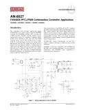 FAN480X PFC + Kết hợp điều khiển ứng dụng PWM