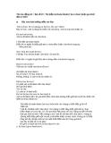 Bài số 20:  Thì hiện tại hoàn thành (I have done) hoặc quá khứ đơn (I did)