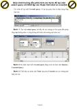 Giáo trình hướng dẫn phân tích các bước để tạo một select query với thiết lập các thuộc tính total và crosstab p1