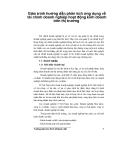 Giáo trình hướng dẫn phân tích ứng dụng về tài chính doanh nghiệp hoạt động kinh doanh trên thị trường p1