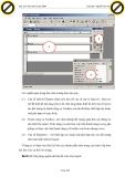 Giáo trình hướng dẫn sử dụng dữ liệu của report được hiển thị ngay màn hình thiết kế để chỉnh sửa application p2