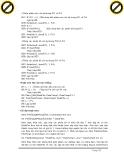 Giáo trình hướng dẫn sử dụng thuật toán hiệu chỉnh trong phân phối các cặp đường chạy lập trình p3