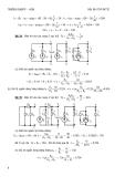 Giải bài tập Điện kỹ thuật ( Trung cấp ) part 2