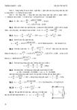 Giải bài tập Điện kỹ thuật ( Trung cấp ) part 3