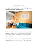 Bố trí căn hộ 17 mét vuông