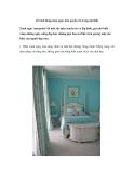 10 cách dùng màu ngọc lam quyến rũ trong nội thất