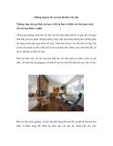 Những nguyên tắc an toàn khi làm việc nhà