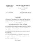 Quyết định số 1175/QĐ-BTTTT