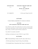 Quyết định số 1124/QĐ-CTN
