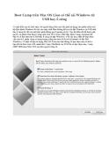 Boot Camp trên Mac OS Lion có thể cài Windows từ USB hay ổ cứng
