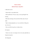 Giáo án văn học lớp mầm Bài thơ: Hoa cúc vàng