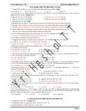 Trắc nghiệm Điện tích định luật Cu Lông