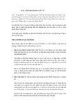 Bài 3: Rủi ro trong đầu tư