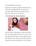 4 Cách giúp phụ nữ yêu bản than