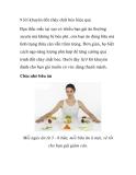 9 lời khuyên đốt cháy chất béo hiệu quả