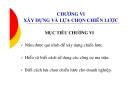 Bài giảng Quản trị chiến lược - Chương 6