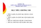 Bài giảng Quản trị chiến lược - Chương 8