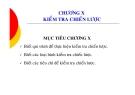 Bài giảng Quản trị chiến lược - Chương 10