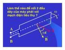 Bài giảng vật lý : Máy phát điện xoay chiều một pha part 3