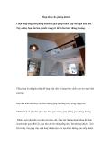 Tầng lửng cho phòng khách
