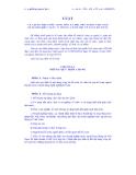 Văn bản Luật về kế toán