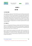 Hóa môi trường - Chương 1