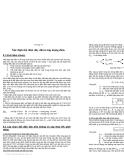 Bài giảng môn cung cấp điện - Chương 6
