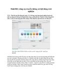 MultiMi: công cụ truyền thông xã hội đáng trải nghiệm