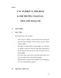 Tài liệu hướng dẫn THANH TOÁN QUỐC TẾ - Bài 3