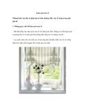Làm sạch cửa sổ