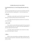 Giải pháp chống nóng nhà ở mùa hè (Phần 1)