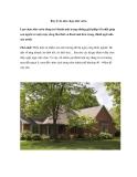 Bảy lý do nên chọn nhà vườn
