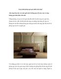 Làm gì khi phòng ngủ quá nhiều ánh sáng?